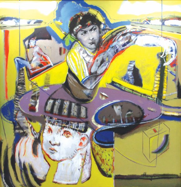 Gramarye, Joe Hargan, acrylic