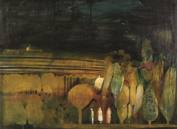 2 Girls + A Boy, , oil on canvas