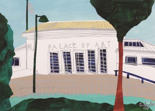 Palace of Art, Cara Broadley, mixed media