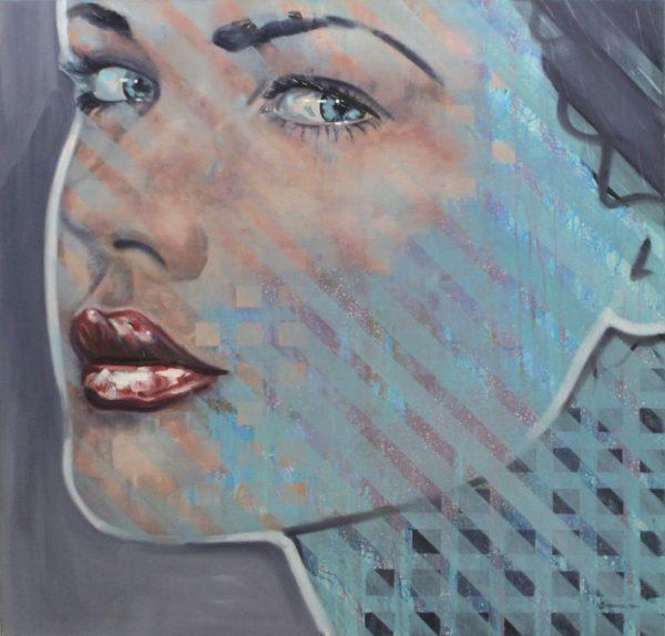Gaze, Stevie Nicholson, oil