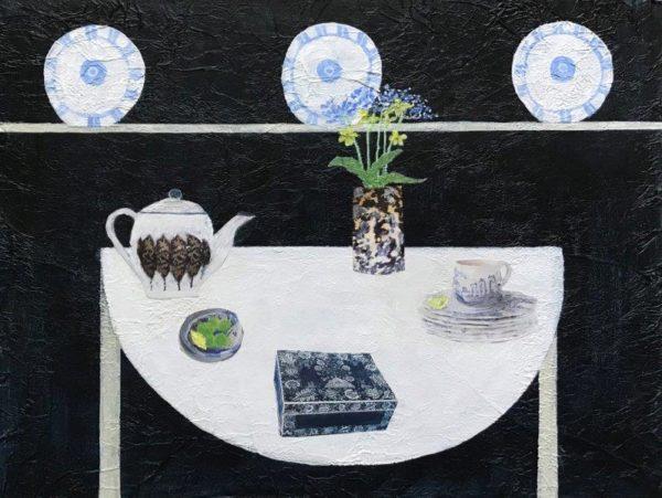 A Slice of Lemon, Sandra Moffat, (2019) 44 cm x 36 cm