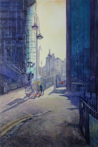 All Change, Sheena F Phillips, Watercolour 08 (2017) 56x38cm