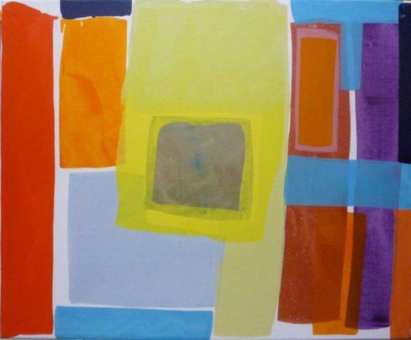 Static, Rowena Comrie, Oil on Linen (2017) 152 x 122cm