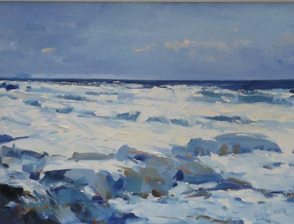 "White Water, Helen M. Turner, 24""x 32"