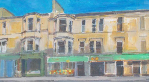 Shops on Albert Drive, Joe Broadley