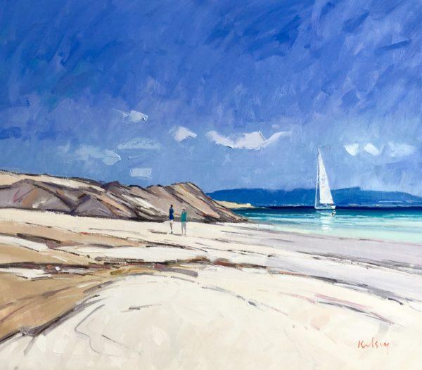 Summer Beach, Iona, Robert Kelsey