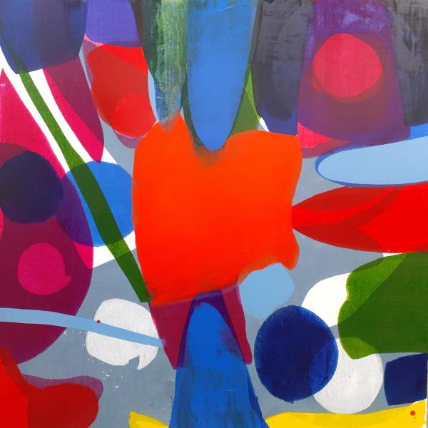 Futuremost, Rowena Comrie, Oil on Linen 140 x 140 cm