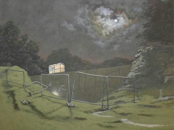 The Notary, Owen Boyle, #029:  oil on canvas, 40x30cm