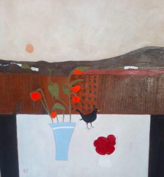 Early morning Song, Irene McCann, #226: oil on linen, 51x51cm