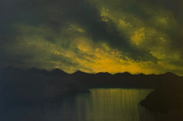 Looking Back, Michael Corsar, #073: oil on canvas, 80x120cm