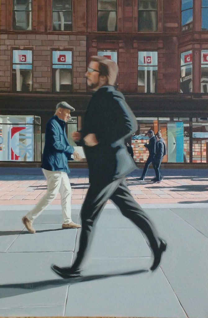 Buchanan Street Dash by Gary McIlkenny