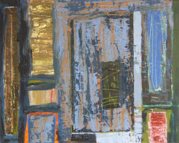 Calling Twilight, Elise V. Allan, #002: oil on linen, 51x41cm