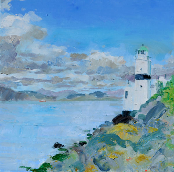 Cloch, Robert Innes, #174: oil on canvas, 60x60cm
