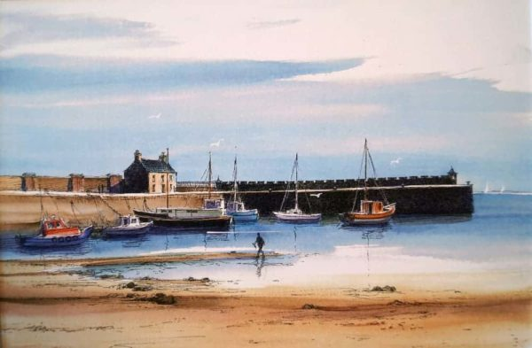 Tide Out Saltcoats, Dorothy Bruce