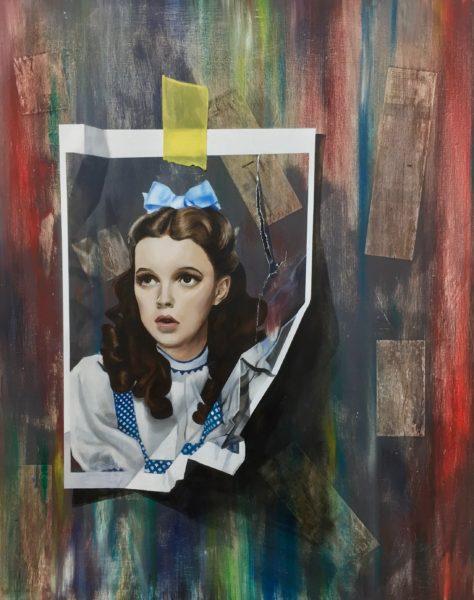 Gale, Ilona Dynowski, #103: oil on canvas, 80x100cm,