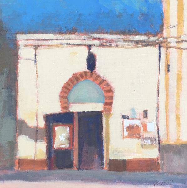 A Corner of Granada, Joe Broadley, #034: acrylic on canvas, 30x30cm