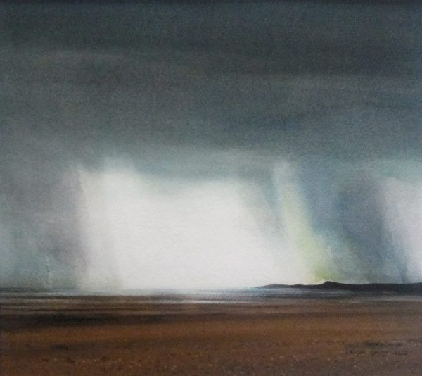On the Solway, Gregor Smith, #335:  watercolour, 44x47cm