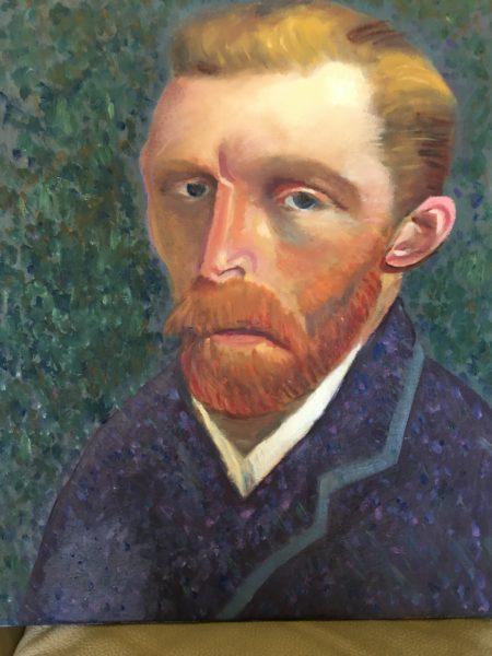Vincent, Margaret Lothian, #202: oil on canvas, 50x40cm