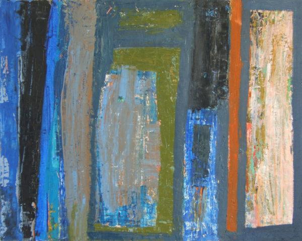 Meeting Twilight, Elise V. Allan, #001: oil on linen, 51x41cm, £850