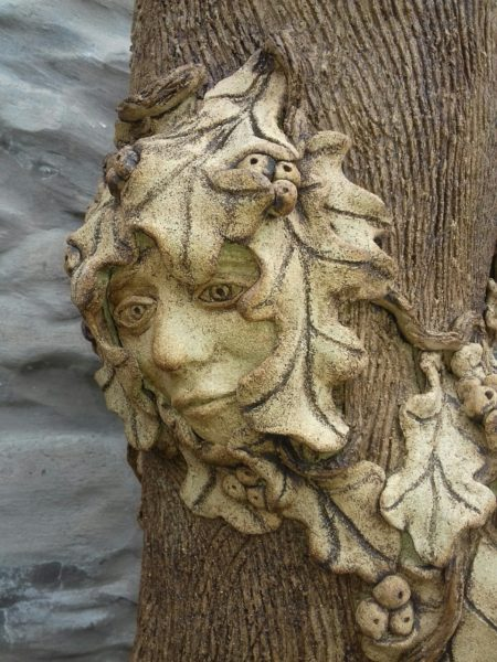 Green Man, Moira (Clinch) Ferguson