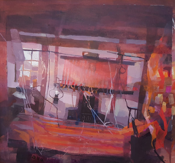 The Loom Shop, Hazel Nagl, #269: mixed media 53x42cm