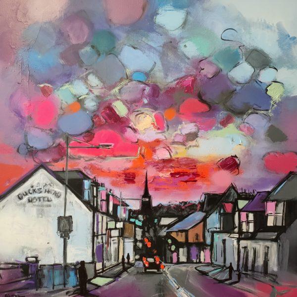 Townhead Street, Kris  McKinnon, #243: Spray paint, acrylic, 90x90cm