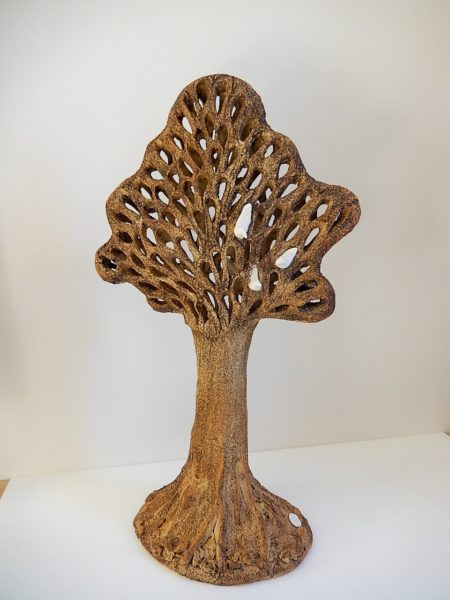 Tree, Moira (Clinch) Ferguson, #113: stoneware, porcelain clays, 59x37x20cm