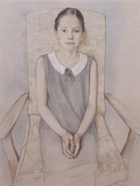 Portrait of a Child, Virginia Colley