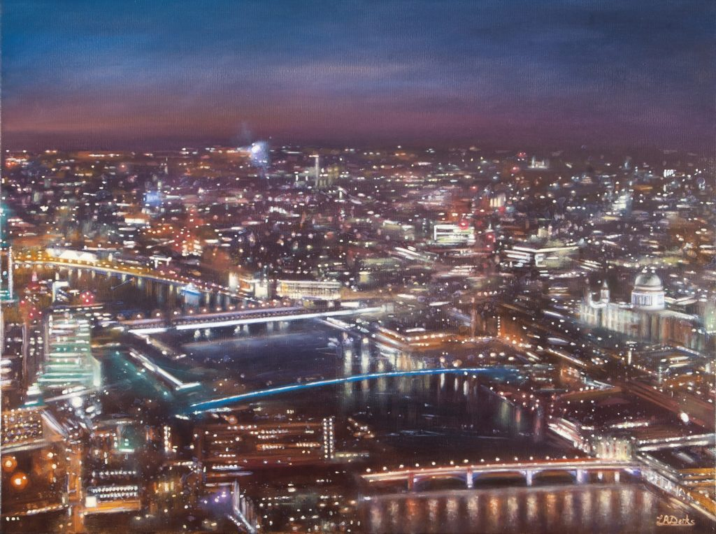View of St. Paul's from the Shard
