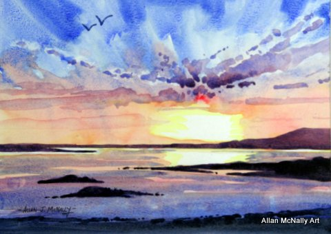 Sunset Galloway, Allan McNally