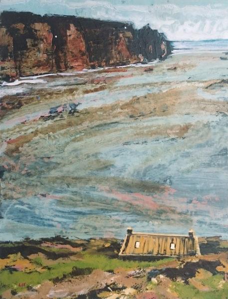 croft, Leo du Feu, #099: acrylic, 26x20cm, unframed
