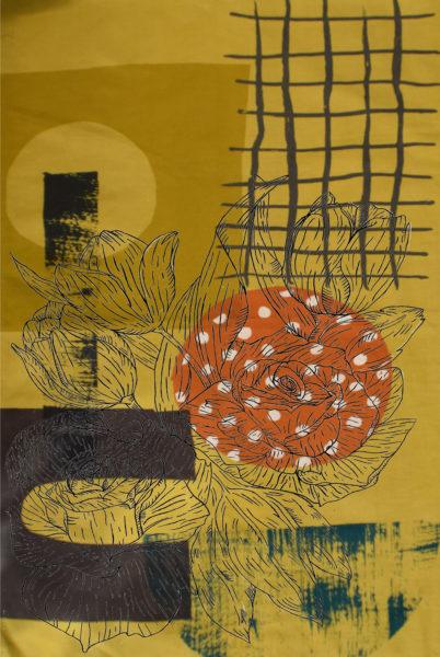 Autumn Leaves, Nicole Brownlie, #046: unframed digital print 1of5, 37.5x46.6cm