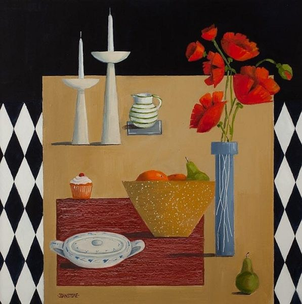 Tabletop with Candles, Lynne Johnstone