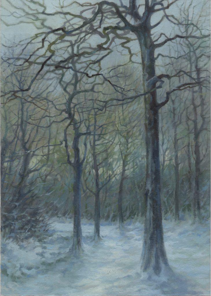 March Snow, Craiglockhart Hill