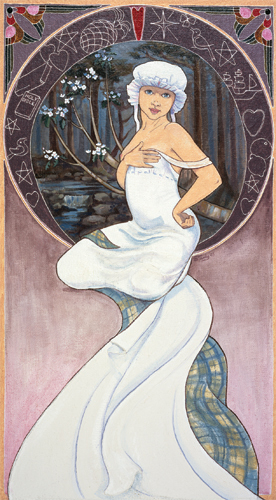 Mary Campbell Giclee, Sheila Tandy