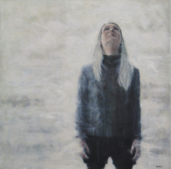Aim High, Jacqueline Westland, #362:  oil paint on stretched canvas, 60x60cm