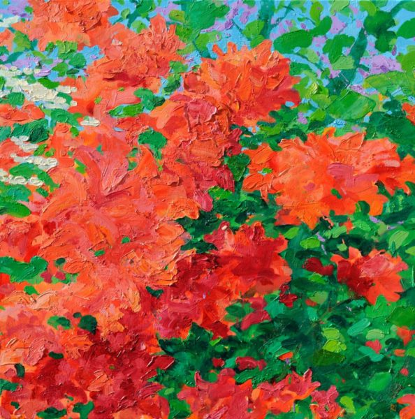 Azalea and the Juda Tree, Robert Innes