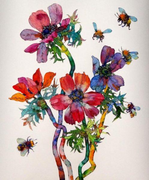 Anemonies Bees, Sofia Perina-Miller