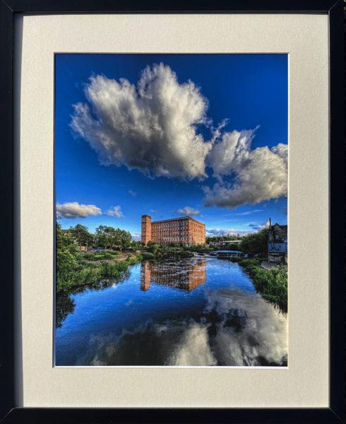 Paisley Anchor Mill, Bill Crookston, #081: photographic print, 30x40cm