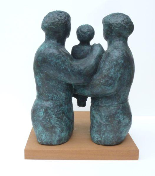 Seedling, Simon Manby, #220: bronze, 36x28x15cm
