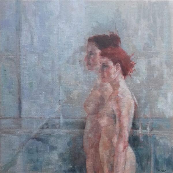 Duo, Jacqueline Westland, 40x40cm