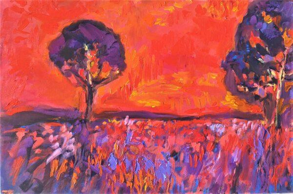 The Evening Sky, John Martin Fulton