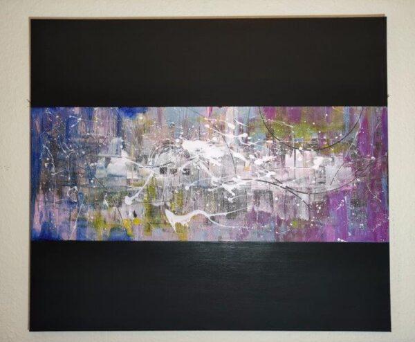 Untitled., Giselle Dian, Acrylic on canvas Unframed 80cm x 70cm