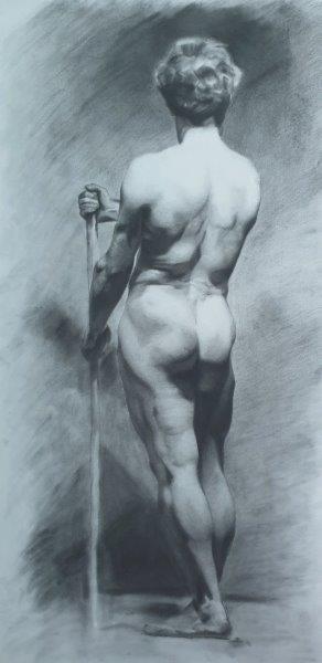 Male Figure after Arturo Viligiardi