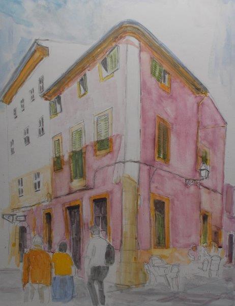 Back Street Cafe,Pollenca Town