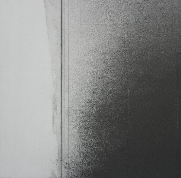 Shadow Map V, Mary Morrison, Oil, graphite and beeswax on paper Framed 43cm x 43cm Frame: h: 60cm x w: 60cm x d: 2.5cm