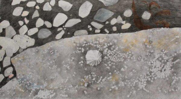 A short time ago, in a galaxy not so far away . . . ., Nicola McInally, Pencil, Snowdon Cartridge Paper Framed 57.5cm x 38.7cm